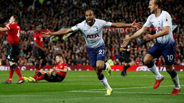 Tottenham Hotspur menang 3-0 atas Manchester United di pertemuan pertama musim ini.