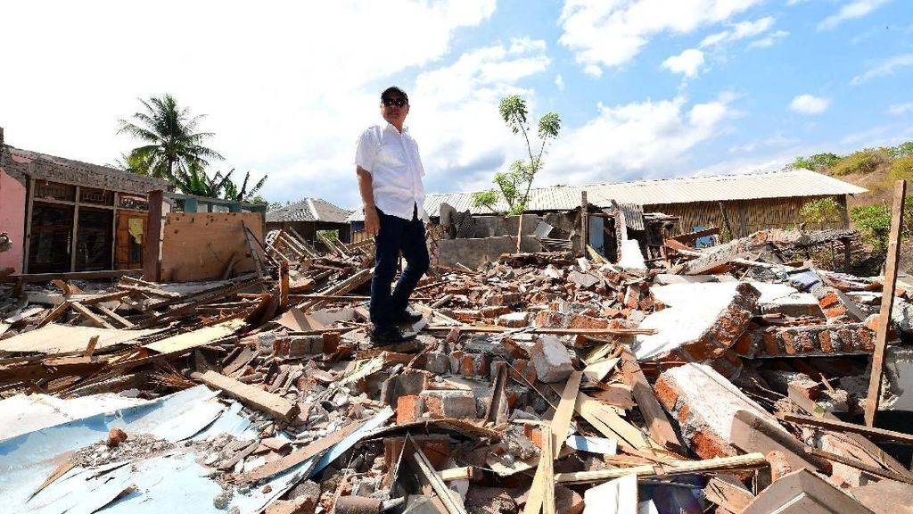 Kerugian Infrastruktur PLN Capai Rp 70 M karena Gempa Lombok