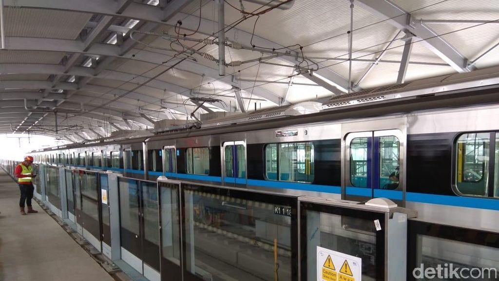 Akhir Oktober 2018, 3 Trainset MRT Bakal Tiba Lagi di Indonesia