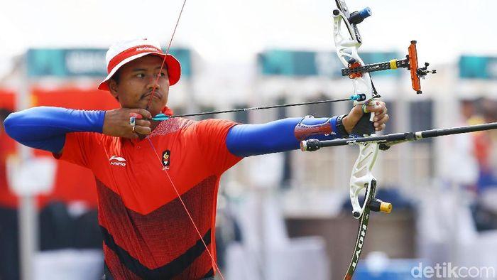 Riau Ega Agatha Salsabila menjadi harapan Indonesia untuk meraih emas di SEA Games 2019 Filipina. (Grandyos Zafna/detikSport)