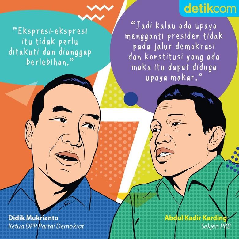 Debat Panas Gerakan Ganti Presiden: Intel Melayu vs Upaya Makar