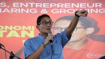 Lukas Enembe Dukung Jokowi, Sandiaga Ingatkan Ada Aturan KPU