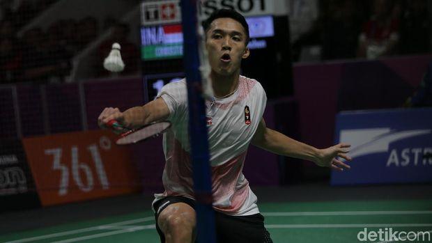 Jonatan Christie Raih Emas ke-23 Indonesia di Asian Games 2018