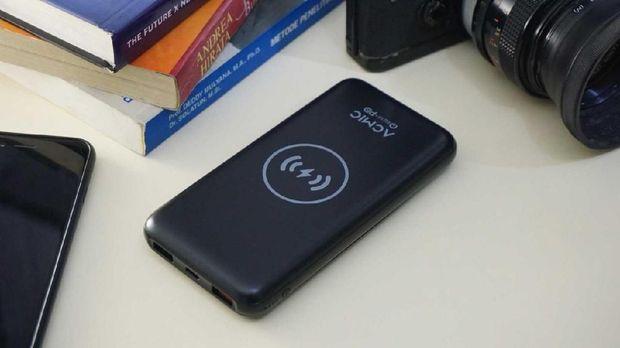Acmic Rilis Power Bank Wireless Charging 10.000 mAh