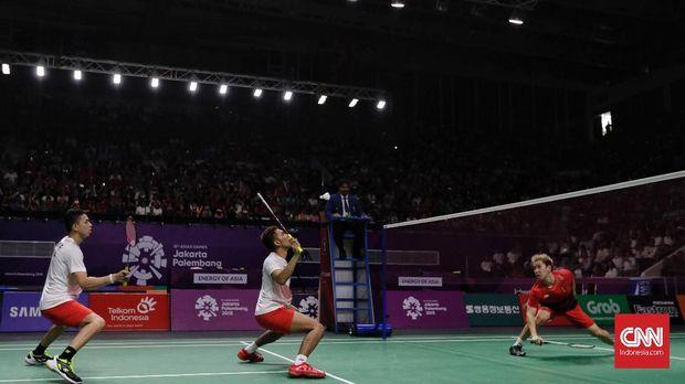 Fajar/Rian akan menghadapi Kevin/Marcus di semifinal China Open.