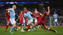 Rekor Buruk di Anfield, City Tak Keder Sambangi Liverpool