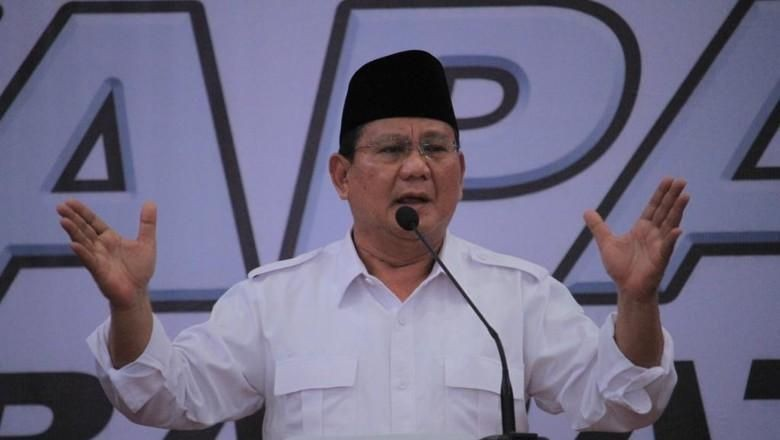 Soal Posisi Wagub DKI, Prabowo: Belum Diputuskan oleh Gerindra