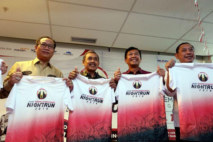 Badung International Night Run 2018 bertujuan untuk menjadikan Kabupaten Badung sebagai tujuan wisata olahraga bertaraf internasional guna menarik wisatawan mancanegara. Pool/ITDC.