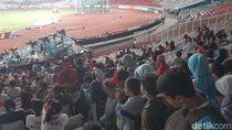 Hari Kerja, Penonton Atletik di GBK Tak Seramai Akhir Pekan Lalu