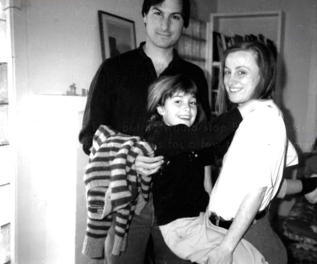 Steve Jobs dan Putrinya