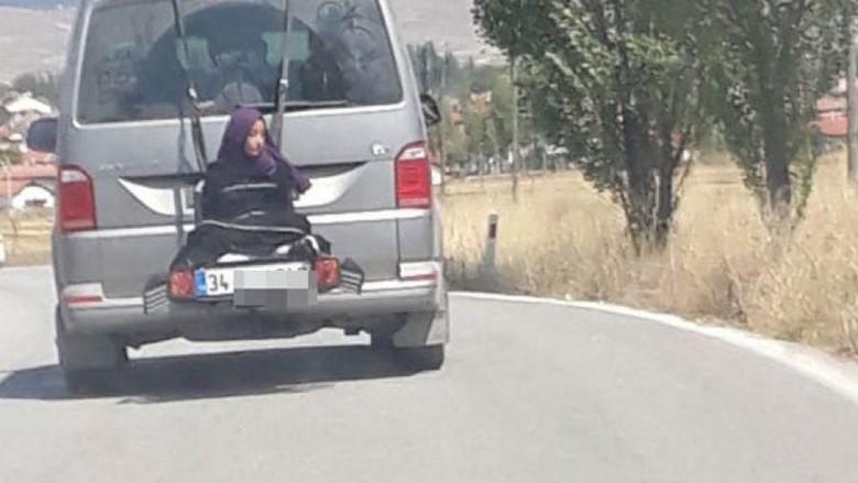 Ikat Putrinya di Belakang Mobil, Pria Turki Ditangkap Polisi
