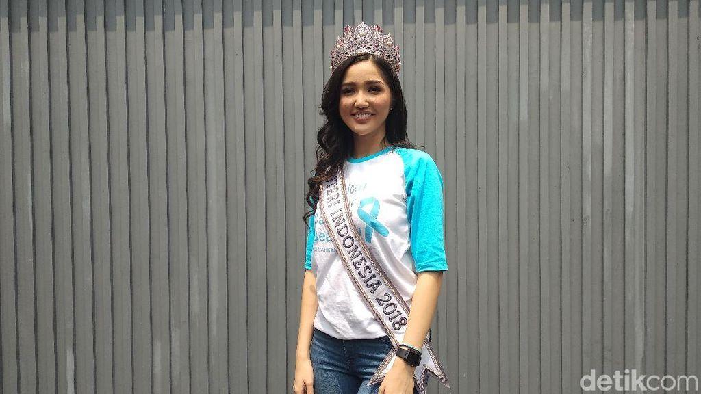 Putri Indonesia 2018 Ubah Pola Hidup Jadi Lebih Sehat untuk Jauhi Kanker
