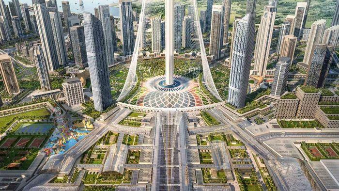 Mal tersebut akan diberi nama Dubai Square. Bangunan tersebut akan menjadi tempat perbelanjaan terbesar di dunia karena di bangun di lahan seluas 8 juta kaki persegi. Istimewa/CNN Money.