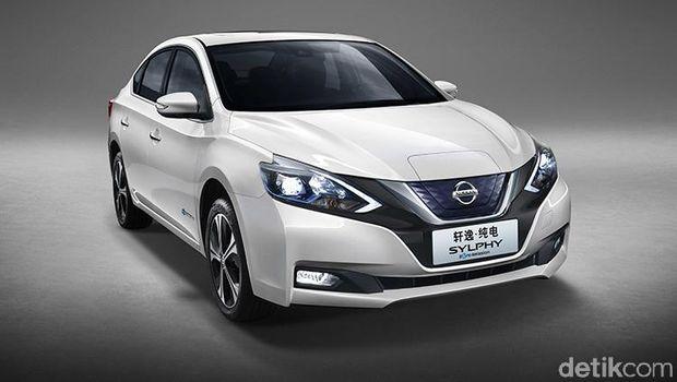 Mobil menggunakan tenaga penggerak yang sama dengan Nissan LEAF