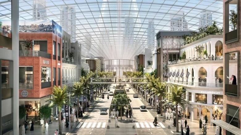 Desain Dubai Square (Emaar Properties)