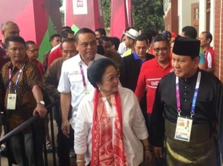 Tanpa Jokowi, Mega Ditemani Puan-Pramono Anung Saat Bertemu Prabowo
