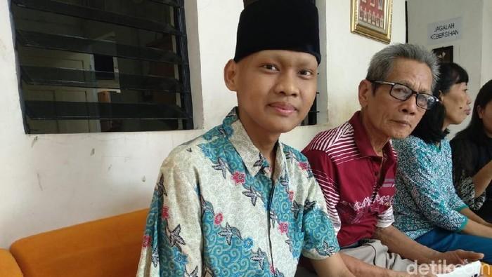 Ronaldi, pengidap sarkoma asal Bangka Belitung (Foto: Widiya Wiyanti/detikHealth)