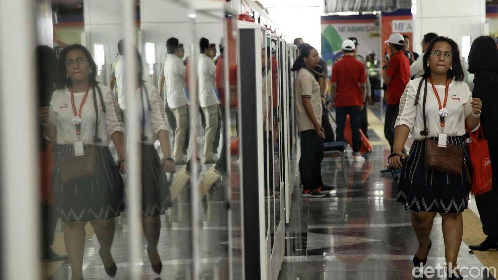 Jajal LRT Jakarta, Atlet Asian Games: Seperti di Singapura