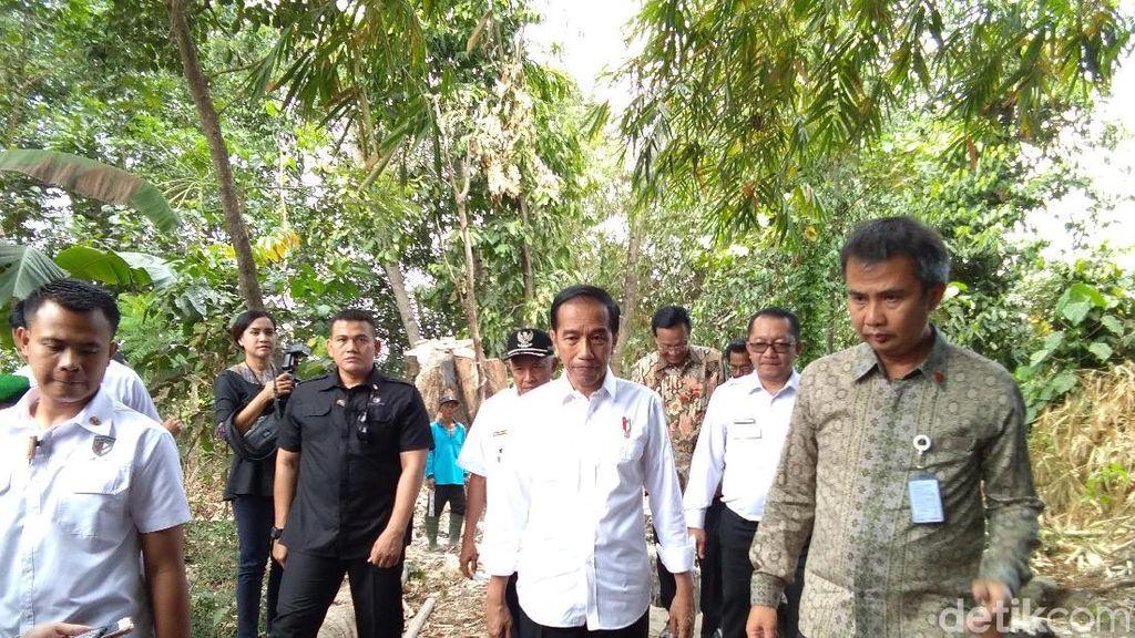 Jokowi: Infrastruktur di Desa Sangat Penting