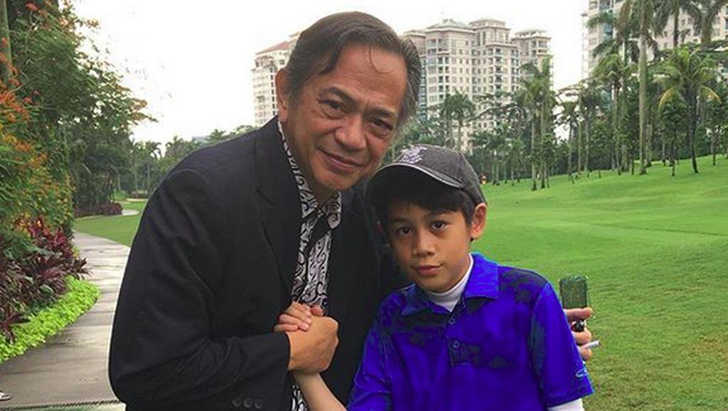 Manisnya Kedekatan Ray Sahetapy dengan sang Cucu, Ramiza