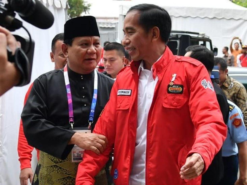 Jokowi: Selamat Ulang Tahun Sahabat Saya, Prabowo Subianto