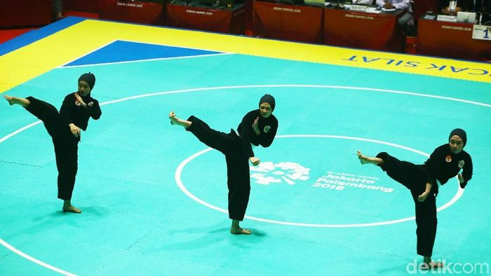Terindikasi ada kecurangan dalam cabang pencak silat Asian Games 2018 (Grandyos Zafna/detikSport)
