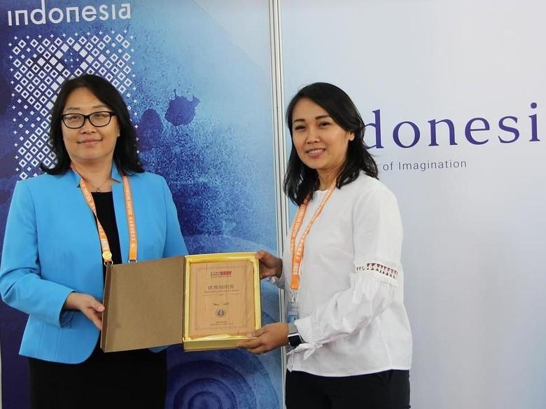 Paviliun Indonesia di BIBF 2018 Dapat Penghargaan dari Penyelenggara