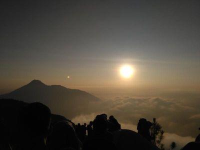 Gunung Andong, Si Kecil Bertipe Perisai yang Memesona