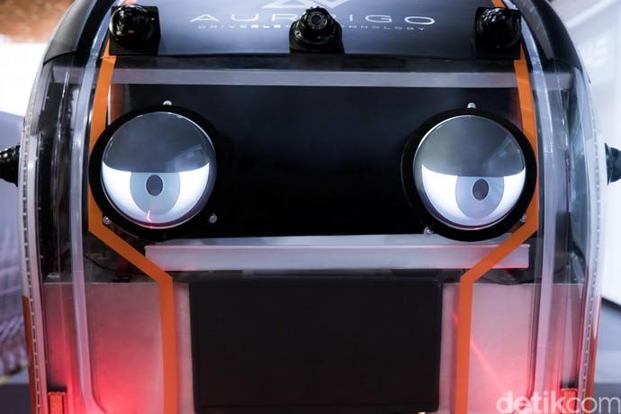 Mobil Robot Sudah Punya Mata, Bisa Menoleh!