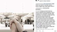 Namun istri Ahmad Dhani itu malah dibully dan ditanya status pernikahannya.Dok. Instagram/kartikaputriworld