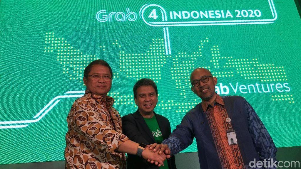 Rp 3 Triliun, Modal Grab Dorong Startup Lokal Go International