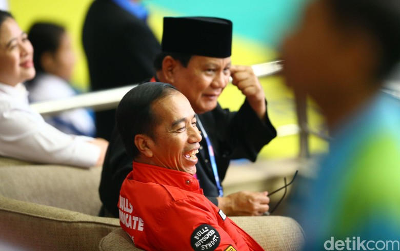 Survei New Indonesia: Jokowi-Maruf 55,8%, Prabowo-Sandi 34,3%