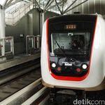 LRT Jakarta Baru Bisa Dipakai Awal 2019