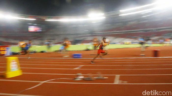 Lalu Muhammad Zohri tak bisa puasa di Kejuaraan Dunia Estafet di Yokohama, JepangFoto: Grandyos Zafna