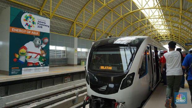 LRT Palembang Sepi Penumpang, Apa Pembelaan Kemenhub?