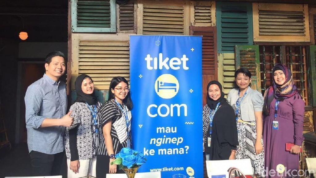 Tiket.com Bakal Hadirkan Fitur Pesan Hotel Dadakan
