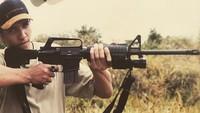 Selain itu Faldy juga hobi berburu.Dok. Instagram/albarfaldy