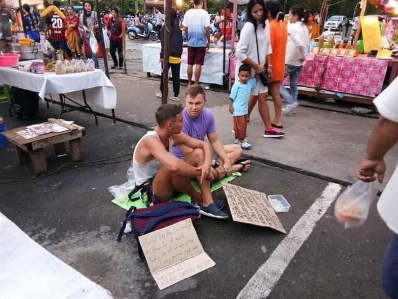 Mengemis di Pasar Phuket, 2 Turis Asing Bikin Geram Warga Thailand