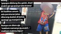 KCI Tegur Orang Tua yang Anaknya Main dan Panjat Jendela KRL