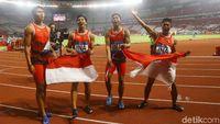 Video: Lalu M Zohri cs Sumbang Perak di Estafet 4 x 100 Meter