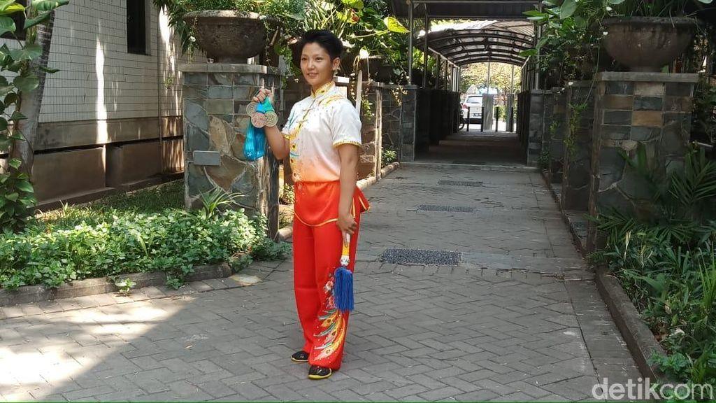 Cerita Natalie Tanasa Raih Tiga Medali di Ajang Wushu Internasional
