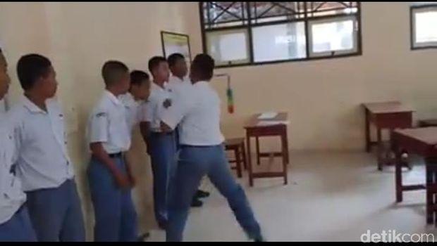Viral Video Aksi Massal Pukuli Adik Kelas di SMKN 3 Kota Tegal