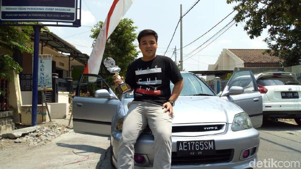 Ini Sosok Pemuda Ponorogo yang Sabet Juara Drag Race Tingkat Nasional