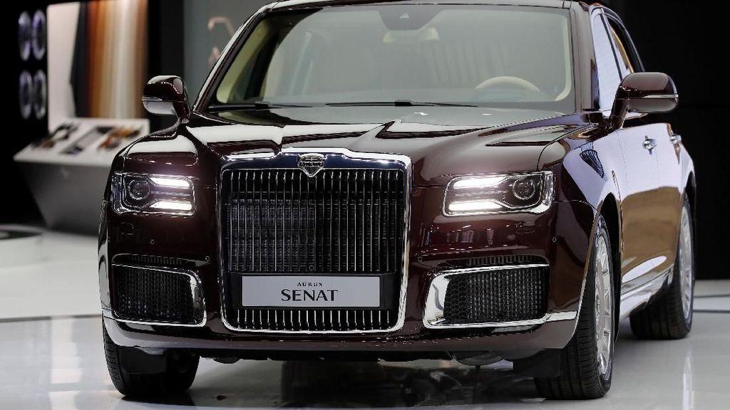 Mobil Mewah Presiden Rusia Vladmir Putin Bakal Dijual Masal