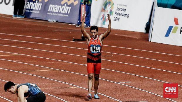 Lalu Zohri merupakan atlet masa depan Indonesia di cabang atletik.