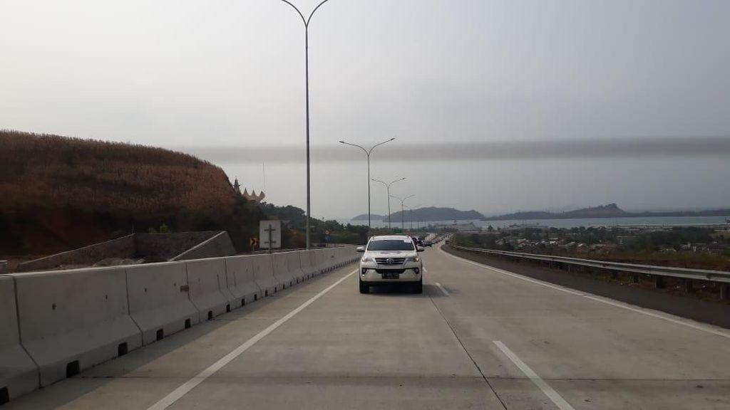 Disuntik Rp 7 T, Proyek Tol Trans Sumatera Dikebut