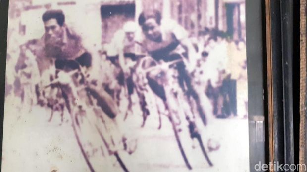 Hendrik Broocks ketika tampil di Asian Games 1962.