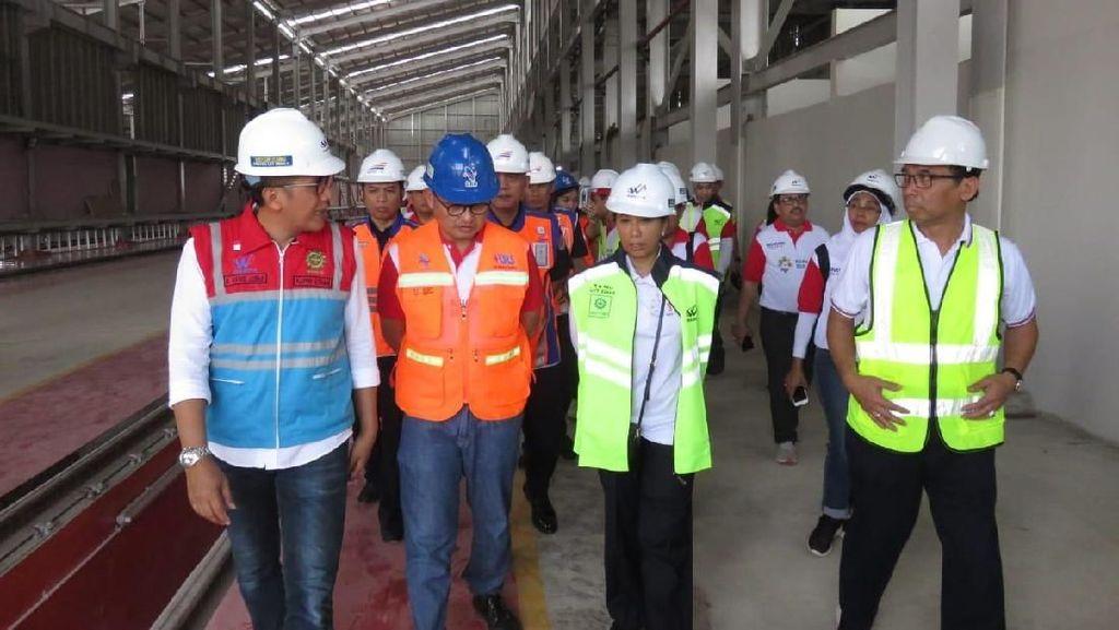 Depo LRT Palembang Ditarget Kelar Akhir 2018