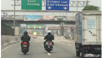 Pemotor Kerap Masuk Jalan Tol, Pasti Tidak Pakai E-Toll