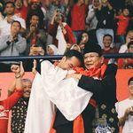 Nostalgia Hanifan, Merindu Pelukan Jokowi-Prabowo